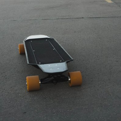 Nextboard longboard front view